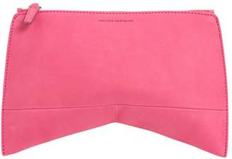 Narciso Rodriguez Pink Suede Clutch Bag