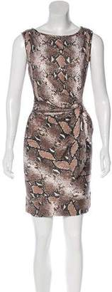 Diane von Furstenberg Della Silk Sleeveless Dress