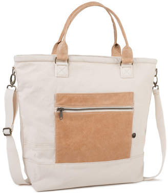 Age Carriers Ivory Canvas Tote