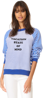 Wildfox Vacation State of Mind Sweatshirt $118 thestylecure.com