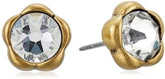 Marc Jacobs Sparkle Flower Stud Earrings