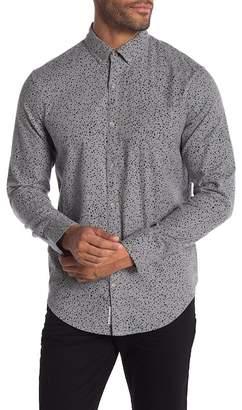 Original Penguin Dotted Long Sleeve Heritage Slim Fit Shirt