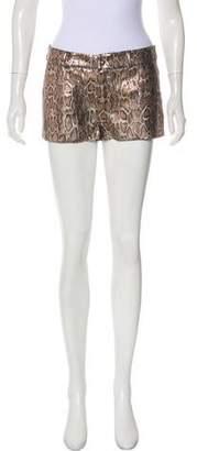 Roseanna Embellished Mid-Rise Shorts