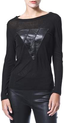 Madonna & Co Knit & Leather T
