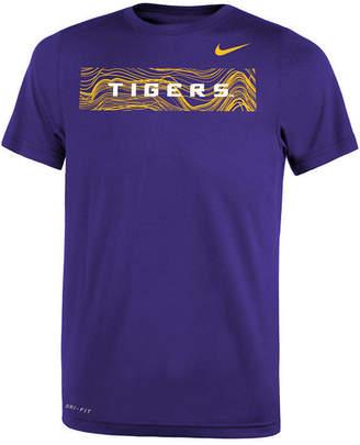 Nike Lsu Tigers Legend Sideline T-Shirt, Big Boys (8-20)