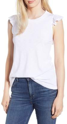 Gibson x Hi Sugarplum! Bonita Ruffled Tank (Regular & Petite) (Nordstrom Exclusive)