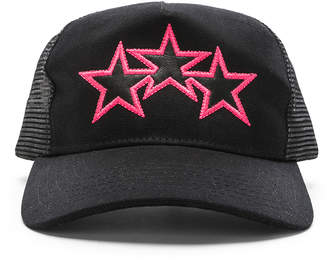 Amiri Three Star Trucker Hat