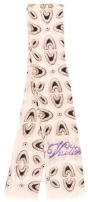 Louis Vuitton Printed Cashmere & Silk-Blend Stole