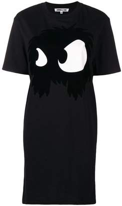 McQ front printed dress