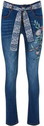 Joe's Jeans Remarkable Applique Skinny Jeans