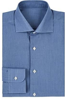 Uman Men's Cotton Poplin Dress Shirt