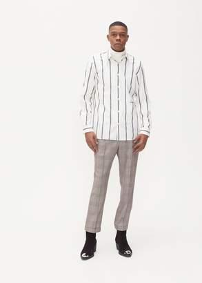 Calvin Klein Uniform Stripe Poplin Shirt