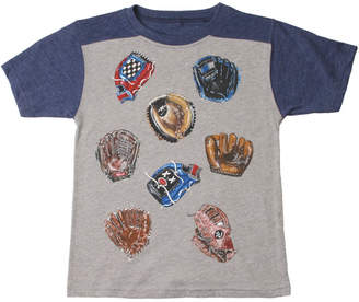 Wes And Willy Baseball Glove Yoke T-Shirt