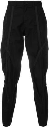 Issey Miyake straight-leg casual trousers