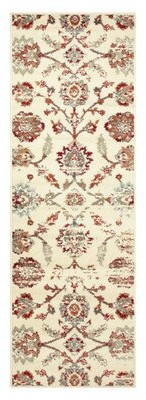 Charlton Home Proto Power Loom Contemporary Polypropylene Ivory Indoor Area Rug Charlton Home