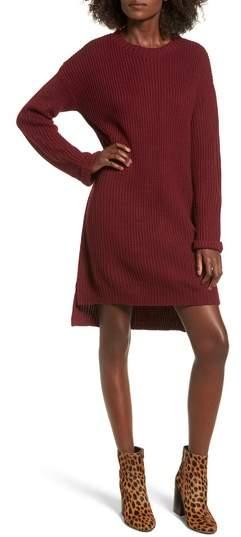 Cotton Emporium Cuff Sweater Dress