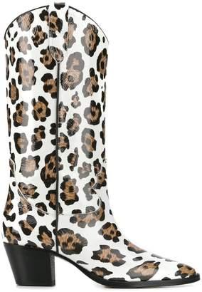 Paris Texas Cowboy-styled boots