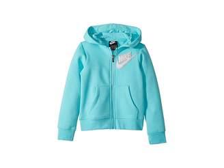 Nike Fleece Lurex Hoodie (Little Kids)