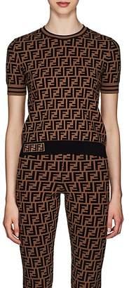 Fendi Women's Zucca Knit T-Shirt