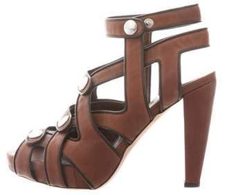 Loeffler Randall Cage Platform Sandals