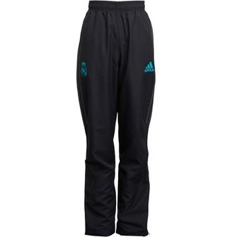 adidas Junior Boys RMCF Real Madrid Track Pants Black/Solid Grey