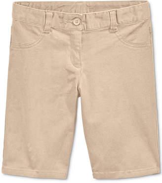 Nautica School Uniform Bermuda Shorts, Little Girls