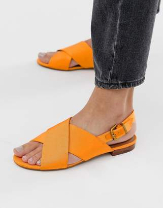 dc91ac2c60ea7 And other stories & criss cross slingback sandals in orange
