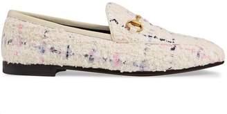 Gucci Jordaan tweed loafer