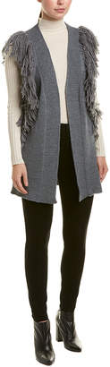 Diane von Furstenberg AS by As By Shag Luxe Wool-Blend Vest
