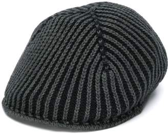 Altea panelled ribbed knit hat