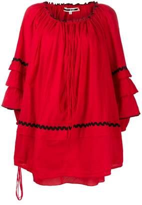 McQ short ruffled dress