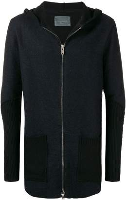 10Sei0otto knitted zip jacket
