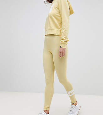 Nike Club Leggings In Lemon