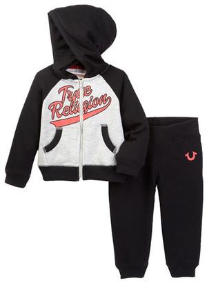 True Religion TR Baseball Hoodie Set (Baby Boys) $79 thestylecure.com