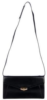 Mark Cross Leather Envelope Clutch