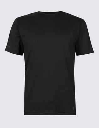 Marks and Spencer Active Textured Crew Neck T-Shirt