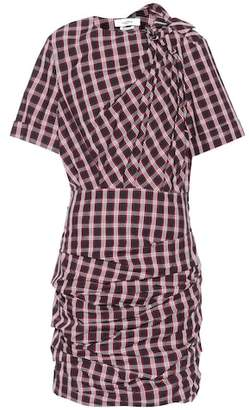 Etoile Isabel Marant Isabel Marant, Étoile Oria draped plaid cotton dress