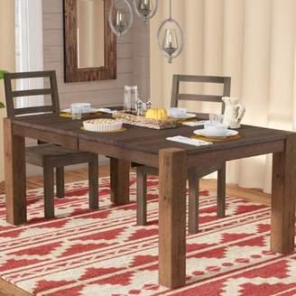 Loon Peak Johnston Leg Extendable Dining Table