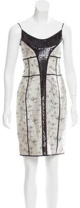 Narciso Rodriguez Embellished A-Line Dress
