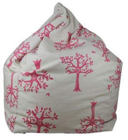 Pink Orchard Kids' Bean Bag