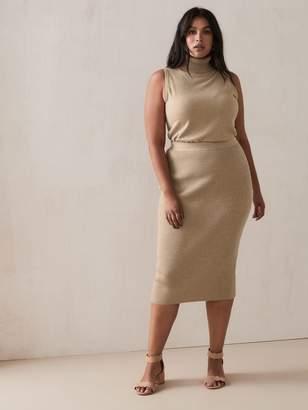 Midi Pencil Sweater-Skirt - Addition Elle