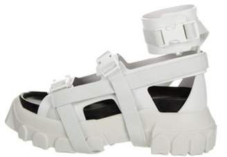 Rick Owens Hiking Spartan Sandals White Hiking Spartan Sandals