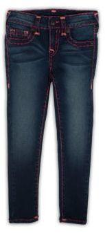 True Religion Toddler's, Little Girl's & Girl's Casey Skinny Jeans $129 thestylecure.com