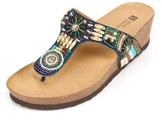 White Mountain Women's White Mountain, Brilliant Thong Sandal 7 M