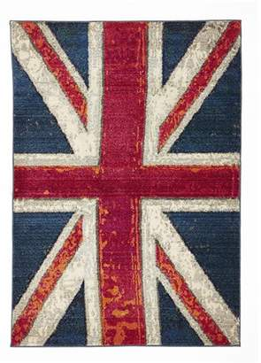 At House Rug Culture Union Jack Blue 230x160cm