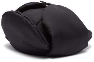 Prada Padded Nylon Trapper Hat - Womens - Black