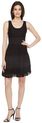 Karen Kane Tara Tiered Lace Dress Women's Dress