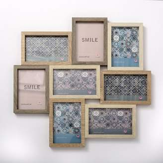 Bungalow Rose Gulledge Wood Puzzle Style Collage Picture Frame