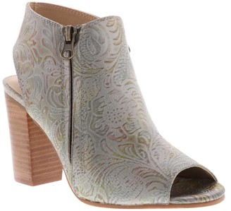 Sbicca Floral Embossed Booties - Danique