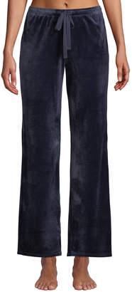 Natori Velour Drawstring Track Pants